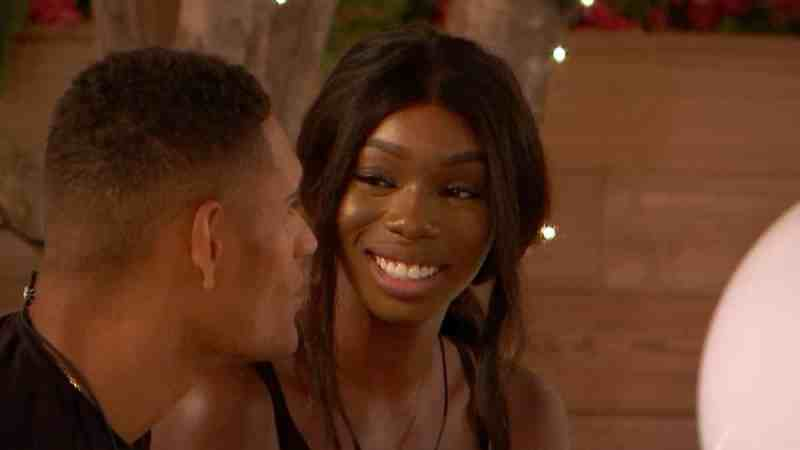 Danny and Yewande chat.