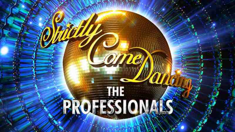 strictly come dancing professionals tour