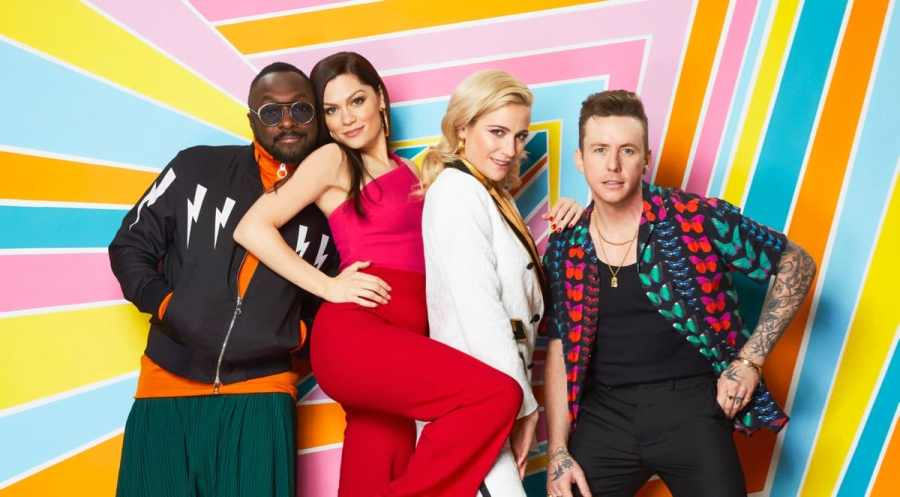 The Voice UK Kids judges