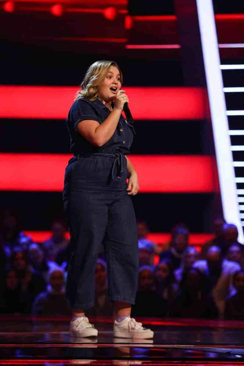 Alexandra performs.