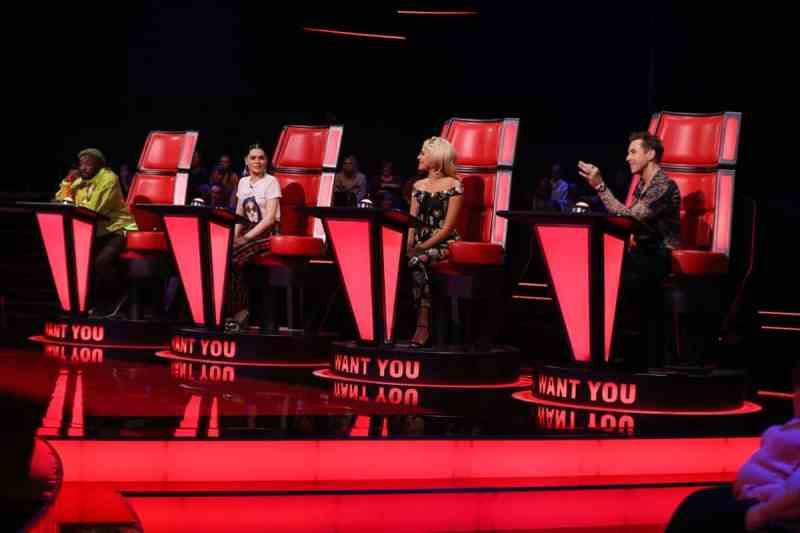 will.i.am, Jessie J, Pixie Lott and Danny Jones.