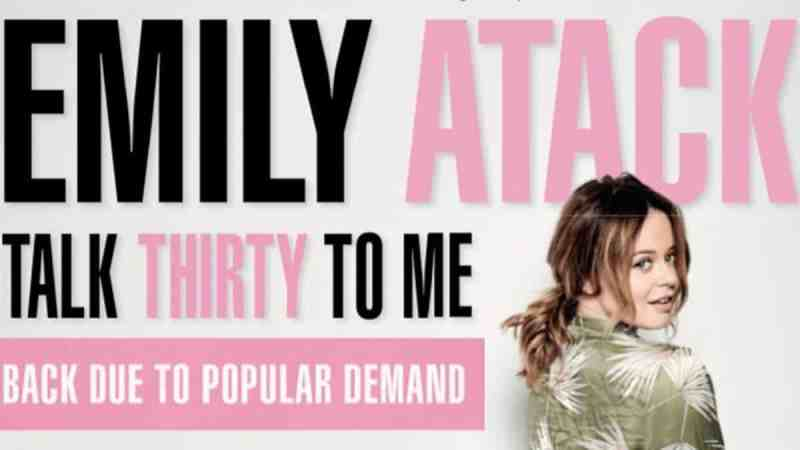 emily atack tour tickets