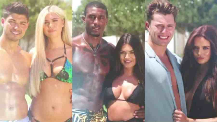 love island results couples