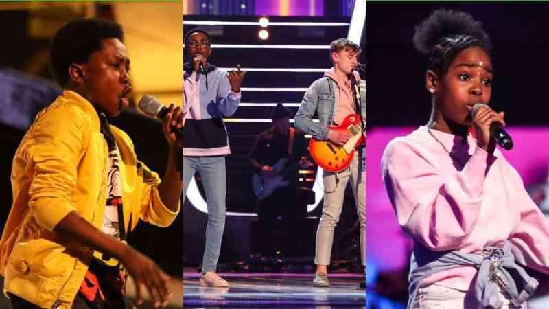 Team Will: Raphael, David & Ammani and Lil Shan Shan