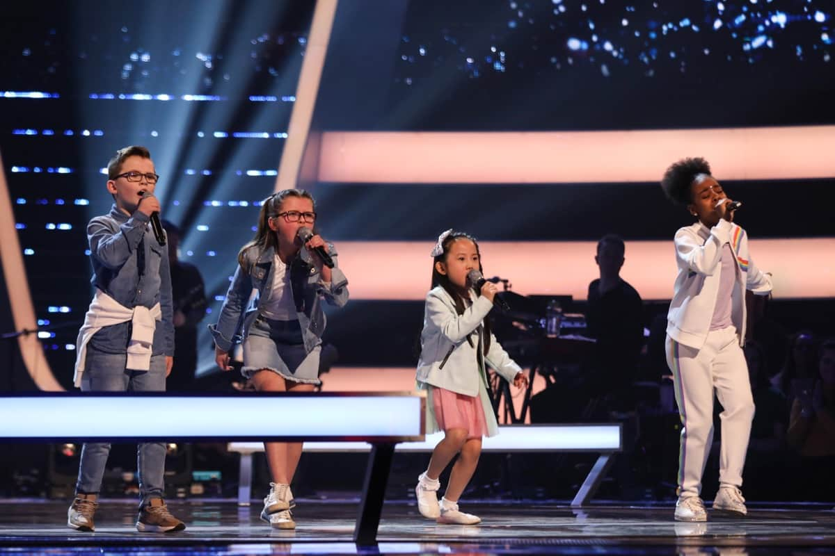 Team Will: Ava & Alfie, Peyton and Lil Shan Shan perform.