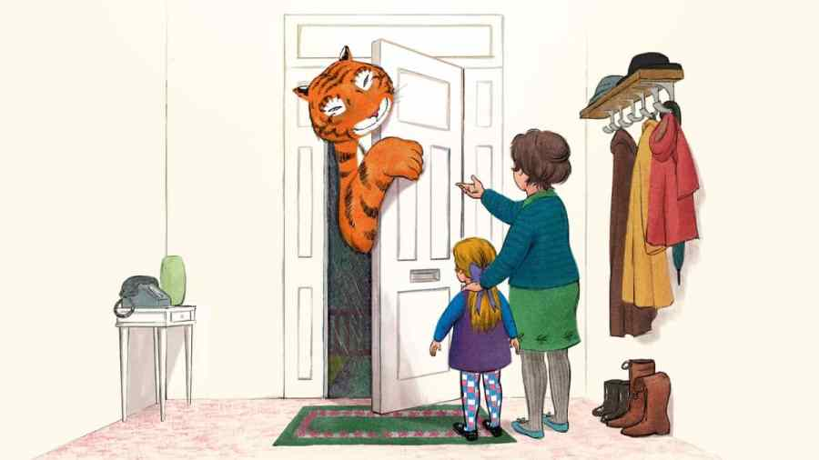 tiger who came to tea channel 4 cast