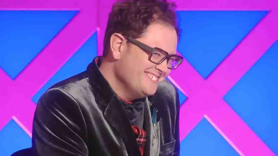 Alan Carr on the RuPaul's Drag Race UK judging panel