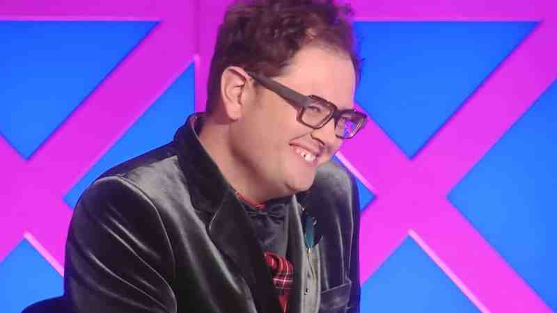 Alan Carr on the RuPaul's Drag Race UK judging panel