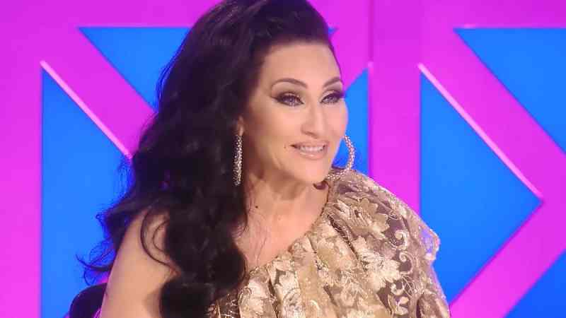 Michelle Visage on the RuPaul's Drag Race UK judging panel