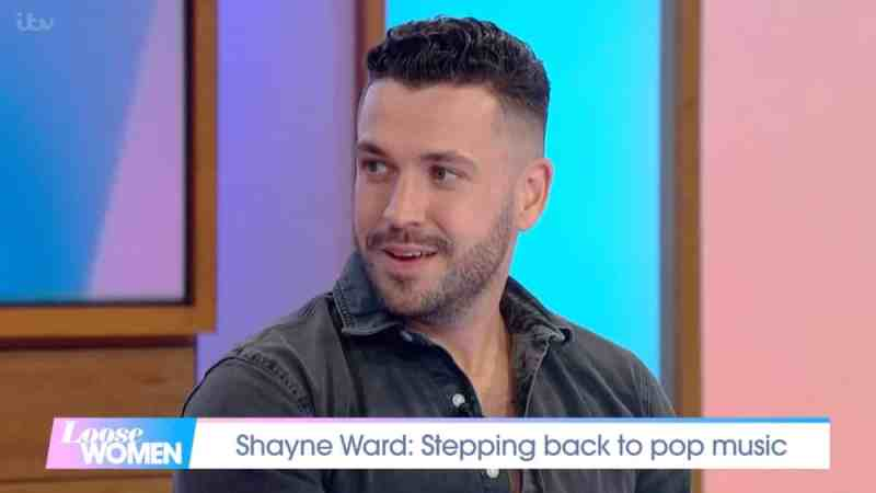 Shayne Ward on Loose Women
