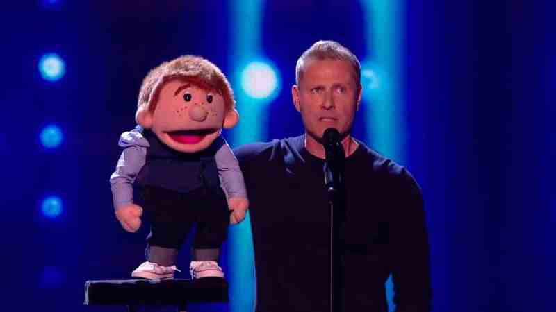 Ventriloquist Paul Zerdin