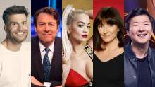 The Masked singer presenter Joel Dommett and judges Jonathan Ross, Rita Ora, Davina McCall and Ken Jeong