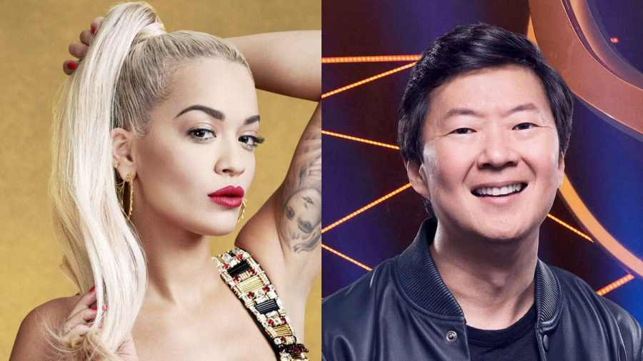 Rita Ora and Ken Jeong