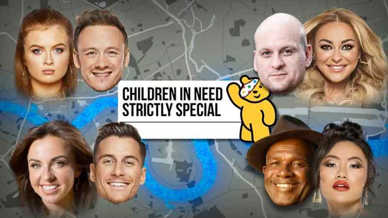 children in need strictly line up 2019
