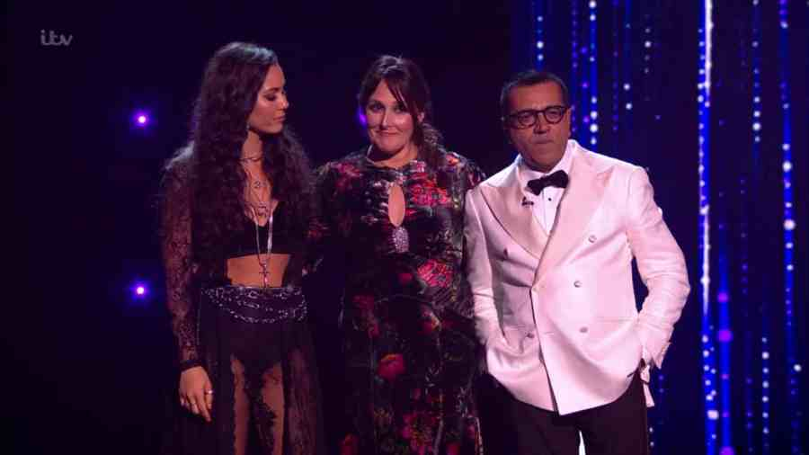 x factor celebrity results 1