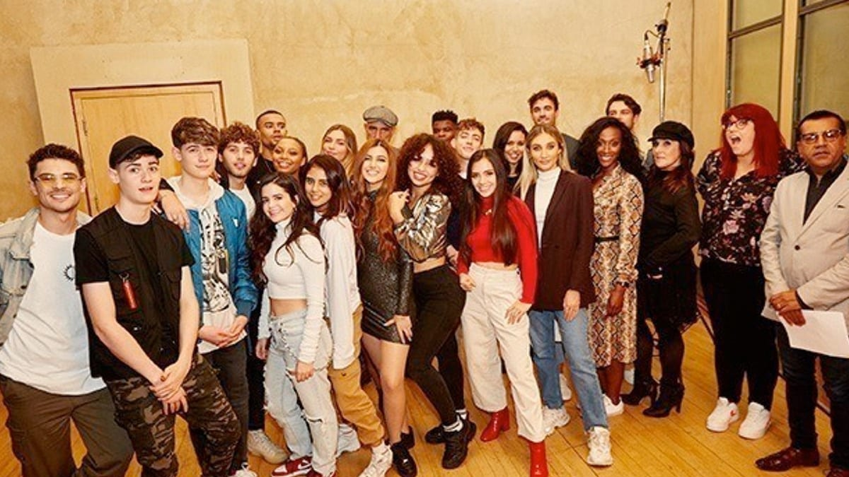 Celebrity X Factor Stars Record Charity Cover Of Snow Patrol S Run The X Factor 2020 Tellymix