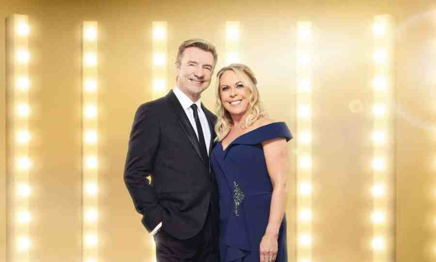 Christopher Dean and Jayne Torvill.