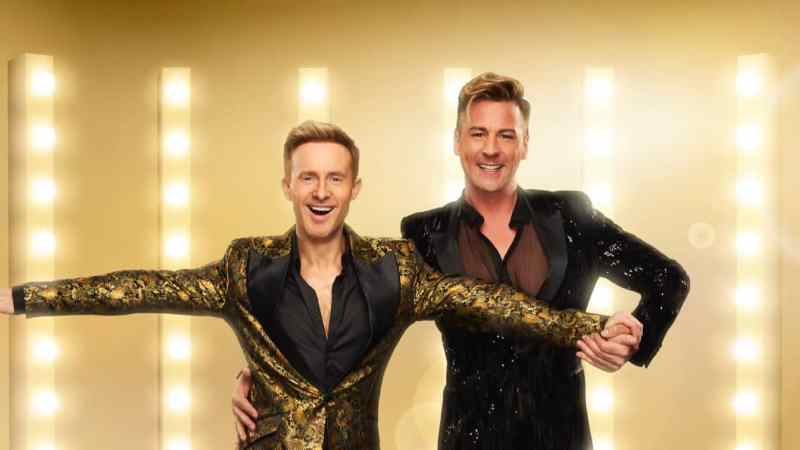 Ian 'H' Watkins and Matt Evers