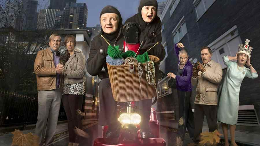 gangsta granny bbc one cast