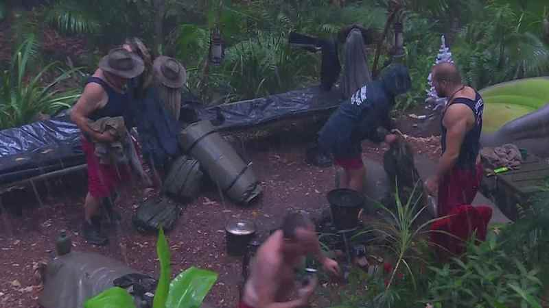 I'm A Celebrity 2019 camp hit by heavy rainstorm