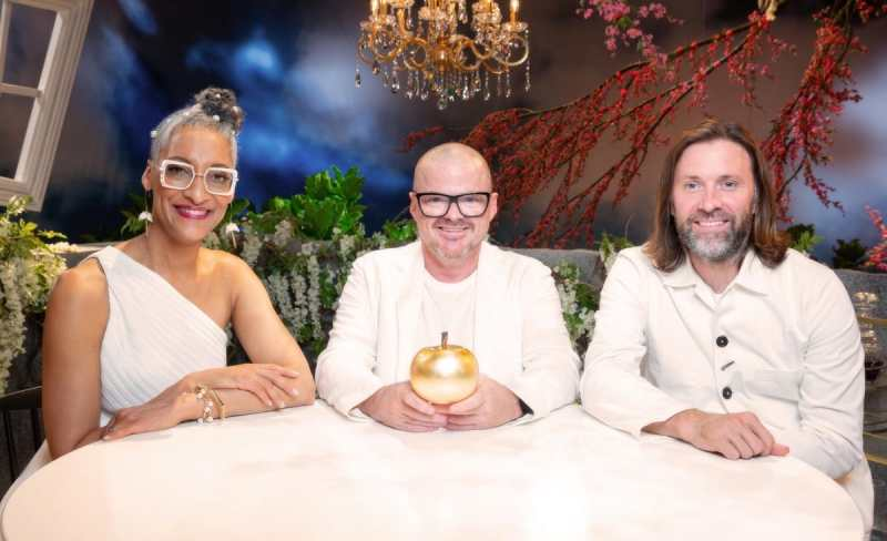 Carla Hall, Heston Blumenthal, Niklas Ekstedt