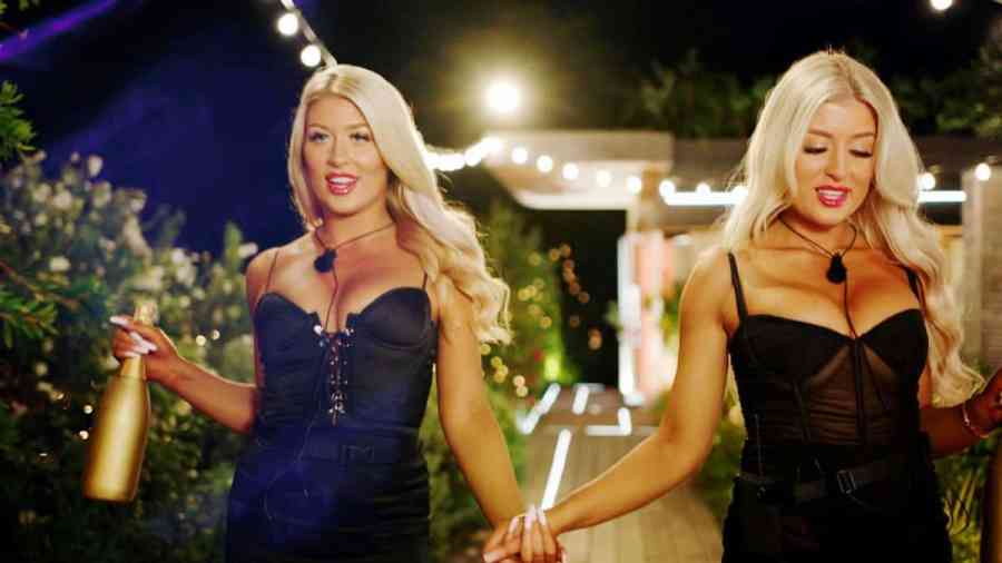 The twins [Eve and Jess] enter the villa.