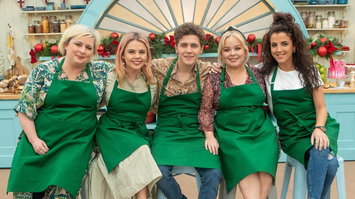 Great British Bake Off New Year's special line up and watch online