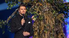 Joel Dommett and Tree.