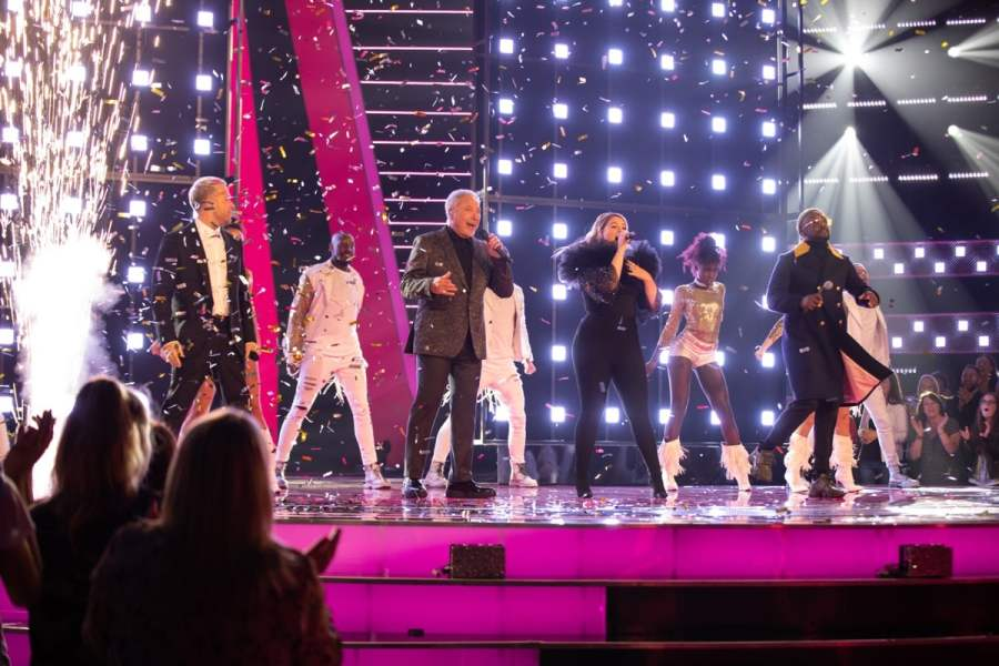 The Voice UK: SR4: Ep1 on ITV