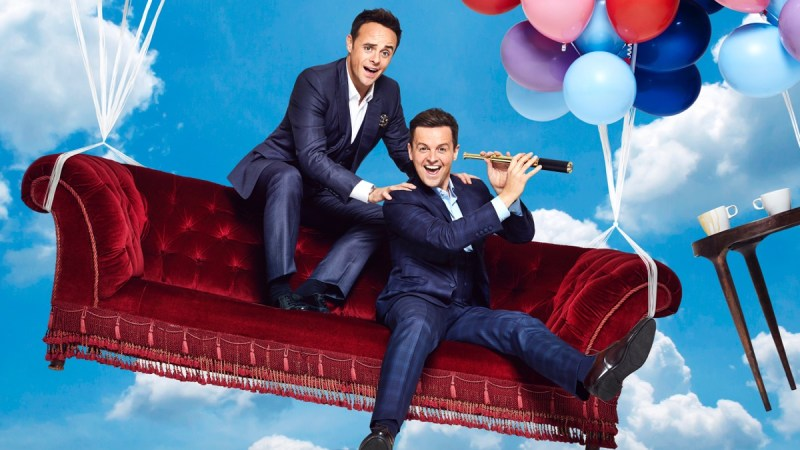 Ant & Dec's Saturday Night Takeaway: SR16 on ITV