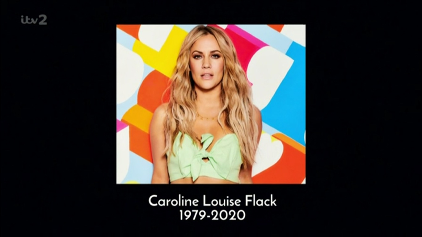 Love Island pays tribute to Caroline Flack in latest episode