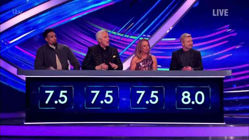 dancing on ice 2020 results six