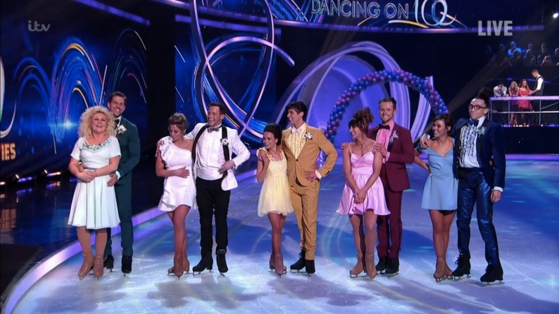 dancing on ice 2020 results week 8 b