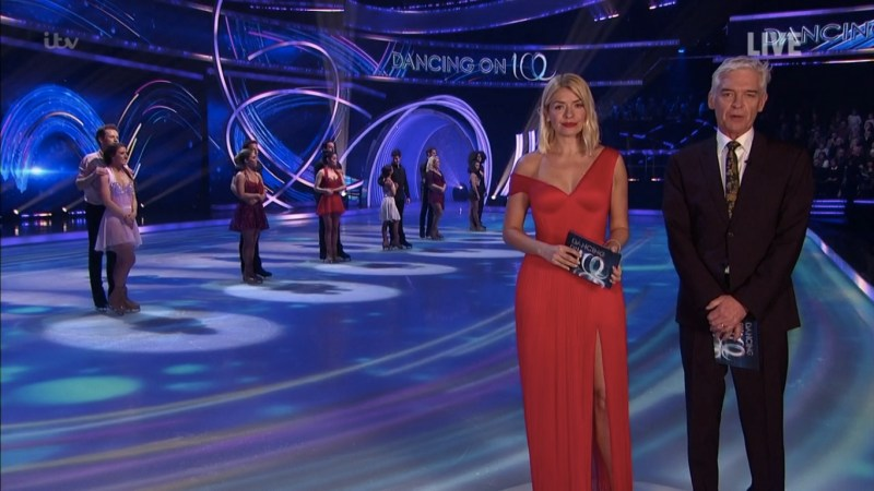 dancing on ice sunday feb 16 results 2