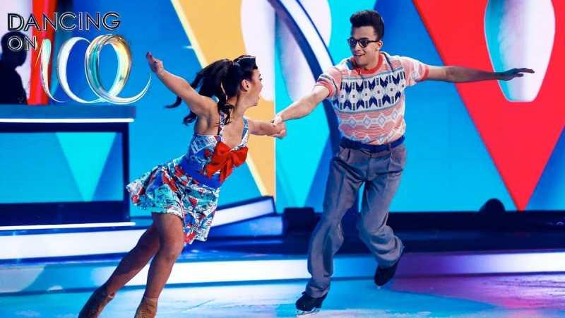 dancing on ice week 6