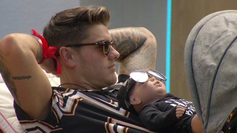 Luke M and baby Louis.