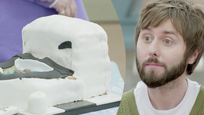 bake off james toilet cake