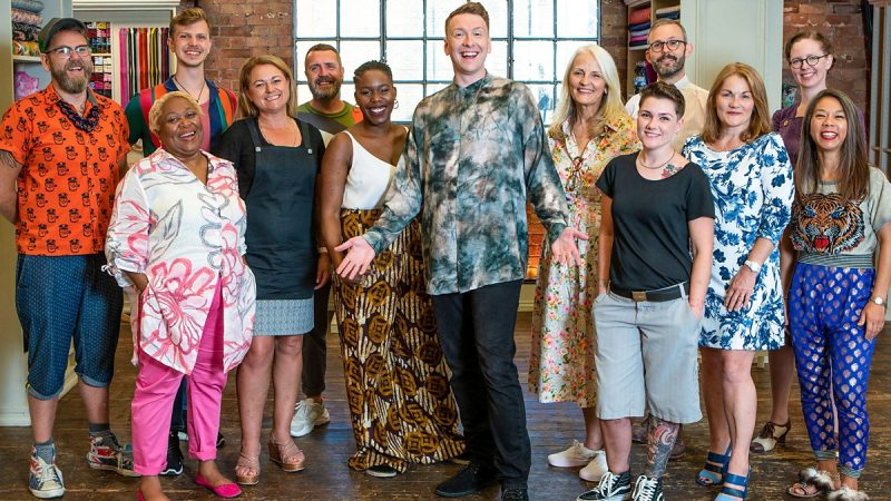 The Great British Sewing Bee 2020 contestants