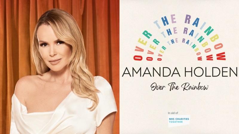amanda holden charity single
