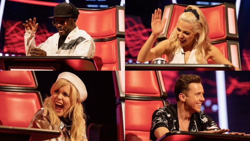 the voice kids coaches teams