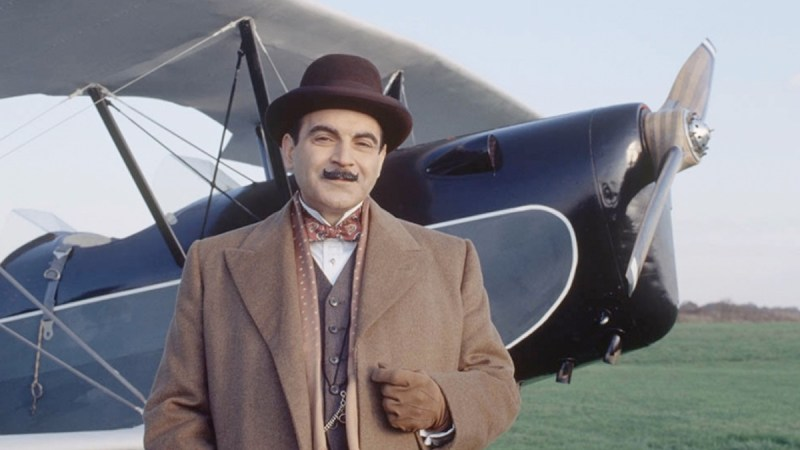 Agatha Christie Poirot cast from The Theft of the Royal Ruby episode