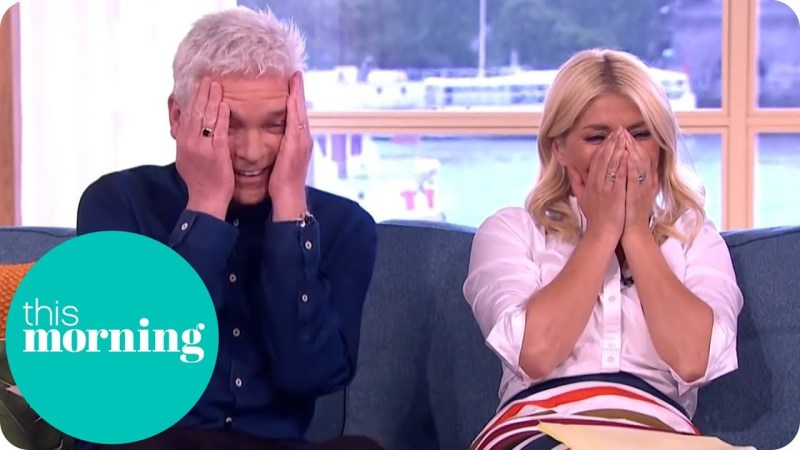 Holly Willoughby and Phillip Schofield this morning 2