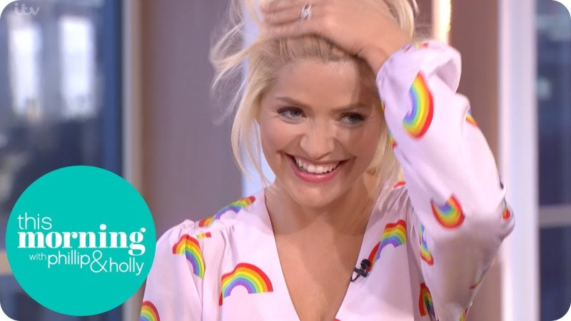 Holly Willoughby this morning