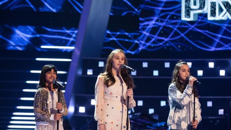 Team Pixie: Aadya, Lydia and Rae perform.