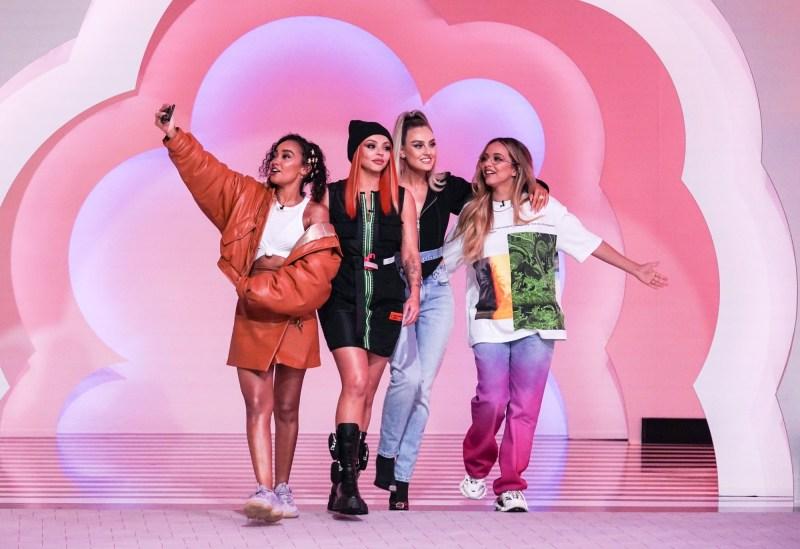 Little Mix. Picture BBC/Kieron McCarron