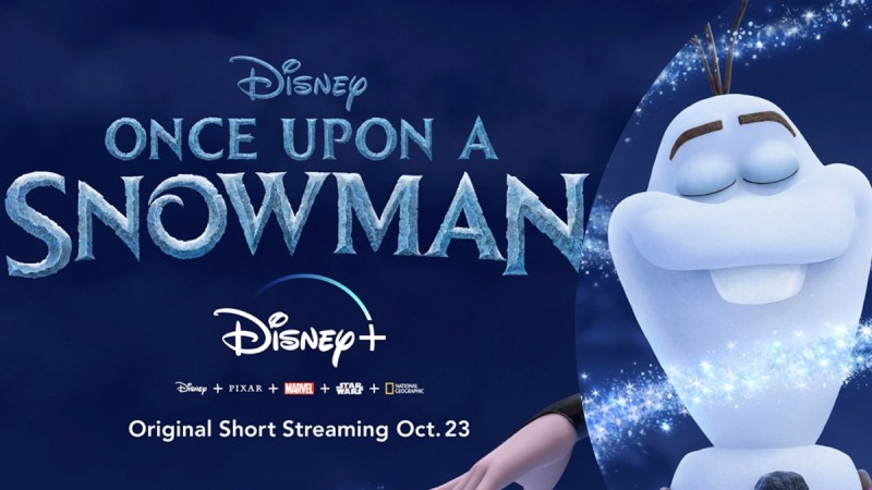 olaf once upon a snowman