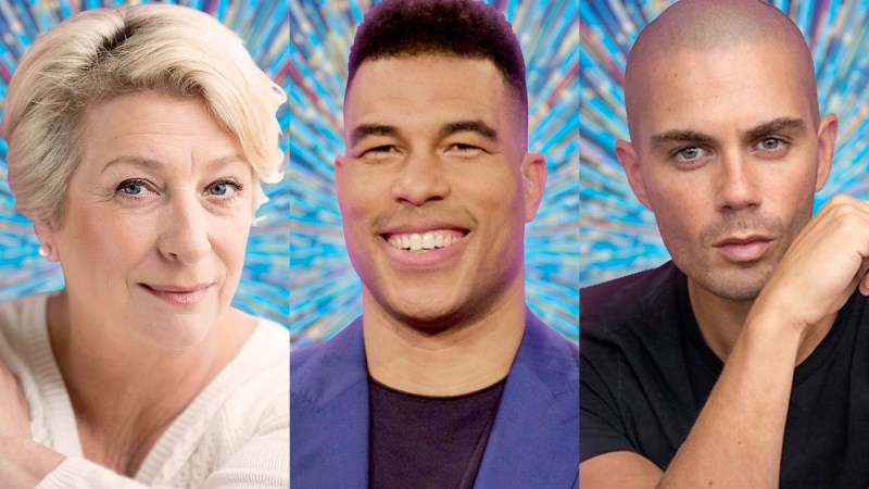 strictly first three celebs