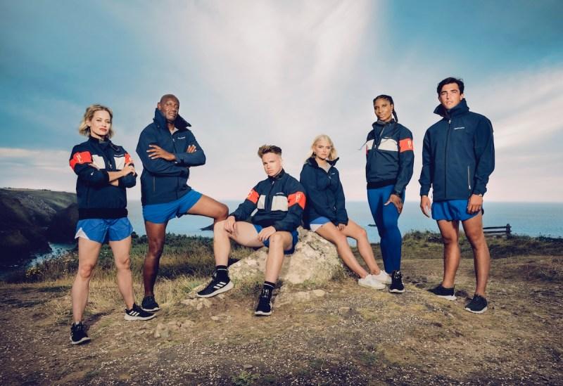 (L-R) Shaun Wallace, Kimberly Wyatt, Joe Weller, Lucy Fallon, Denise Lewis OBE and Jack Fincham.