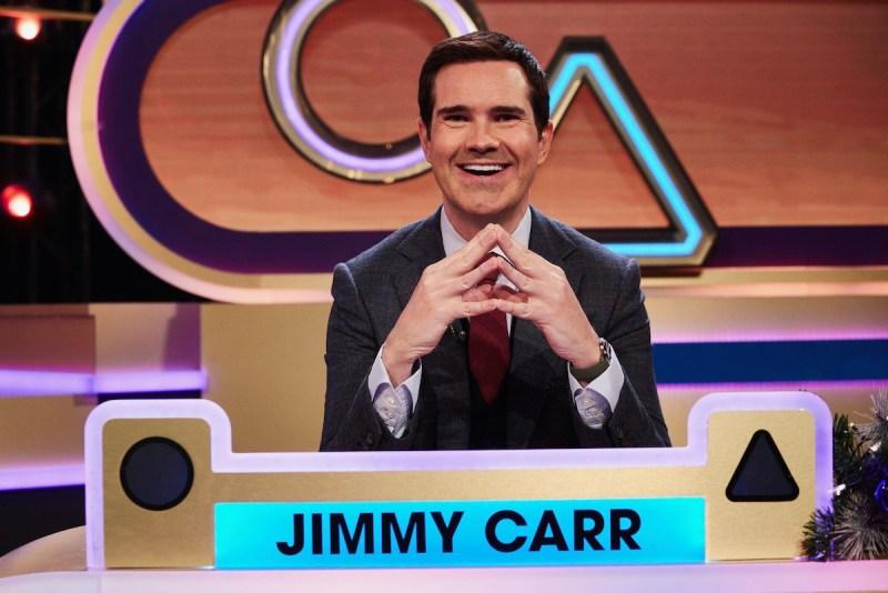 Jimmy Carr. Picture: (C) Thames - Photographer: Matt Frost