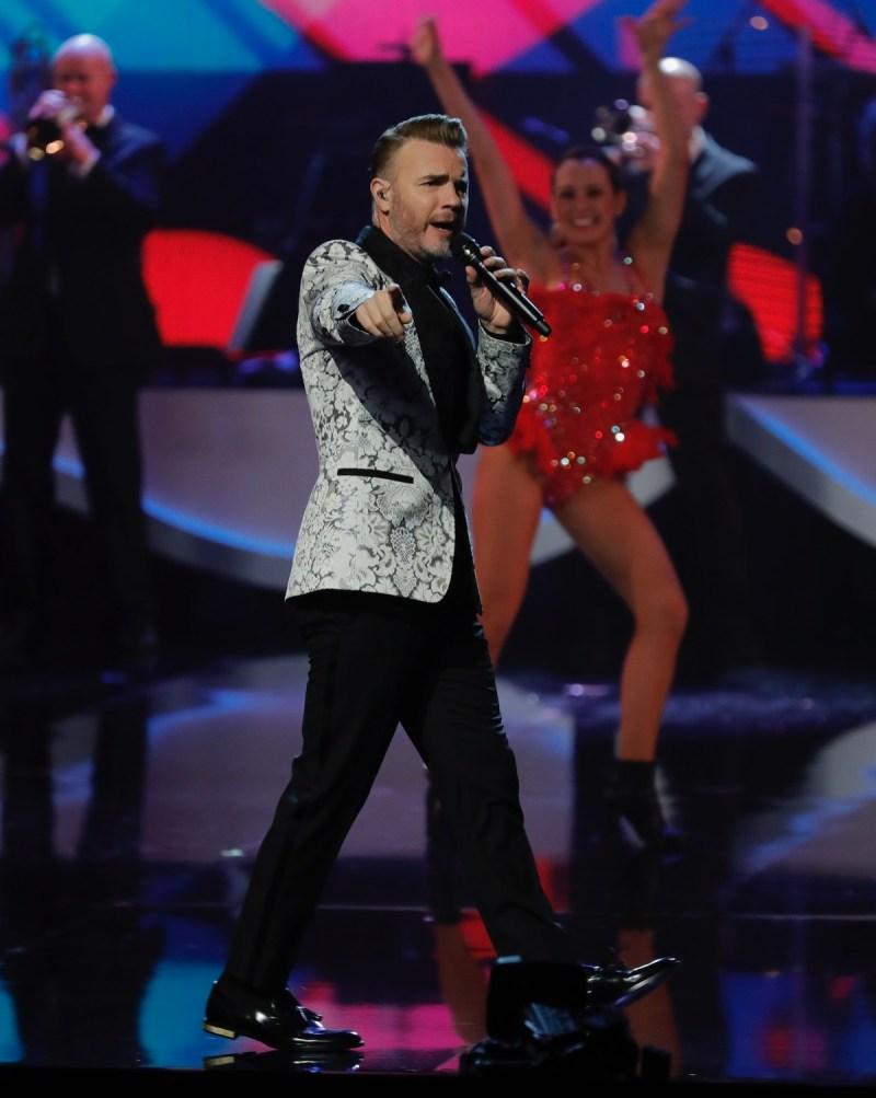 Gary Barlow. Picture: ITV/Matt Frost